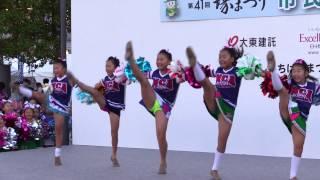 getlinkyoutube.com-チアリーディング、ダンスステージ 堺まつり2014