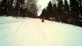 getlinkyoutube.com-Old Forge / Tug Hill New York snowmobile trip 2-1-14   (VIDEO 3)