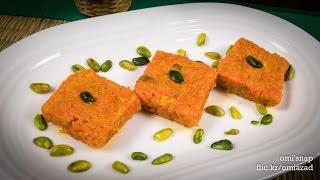 getlinkyoutube.com-গাজরের বরফি | Bangla Gajorer Borfi Recipe | Carrot Dessert