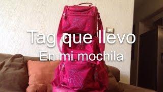 getlinkyoutube.com-Tag que llevo en mi mochila 😄😄