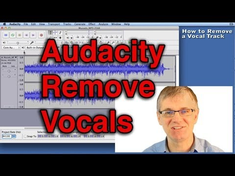 Audacity How to Remove Vocals Track from a Song Tutorial | Record Singing mp3