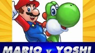 getlinkyoutube.com-Como Dibujar a Mario Bros y Yoshi | How to Draw Mario Bros and Yoshi | Speed drawing