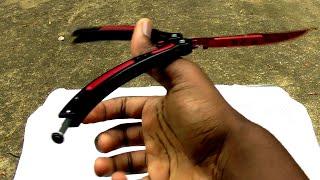 getlinkyoutube.com-$40 CS:Go butterfly knife (trainer) [Full Review] (60fps)