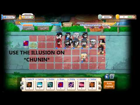 Pockie Ninja II Social : Hero Mode : Chunin Written Test