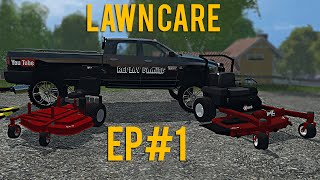 getlinkyoutube.com-Farming Simulator 15 Lawn Care Ep #1