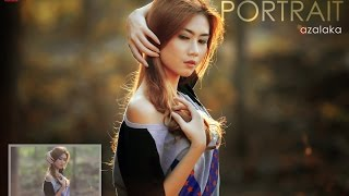getlinkyoutube.com-Photoshop Tutorial : Backlight Portrait of Shelvi