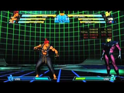 Marvel vs Capcom 3 - Akuma Combo Video
