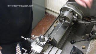 getlinkyoutube.com-Making Small Diameter Threaded Rod ( Making Grub Screws Part 1)