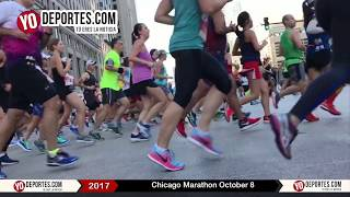 Chicago Marathon 2017 Sunday October 8 Maraton de Chicago