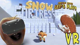 getlinkyoutube.com-Midget Apple Plays - Snow Fortress (HTC Vive VR Game)