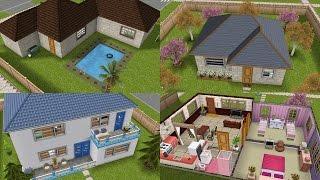 getlinkyoutube.com-Ideas para casas bonitas y económicas || Sims Freeplay