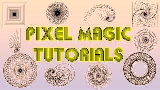 Easy Spirographs and Arrays - Photoshop Tutorial