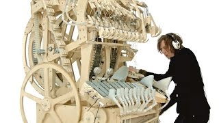 getlinkyoutube.com-Wintergatan - Marble Machine (music instrument using 2000 marbles)