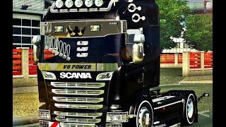 getlinkyoutube.com-Euro Truck Simulator 2 Scania R560 İle  Kömür Çekiyoruz
