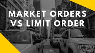 getlinkyoutube.com-Market Orders vs Limit Orders; Stop Losses and Why You Shouldn't Set Them