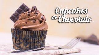 getlinkyoutube.com-Cupcakes de Chocolate | Quiero Cupcakes!