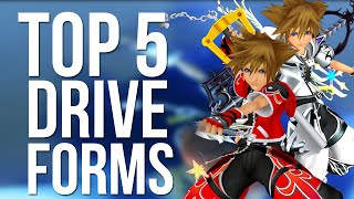 Kingdom Hearts 2 - Top 5 Drive Forms