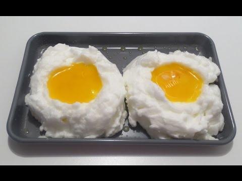 طريقه غير مسبوقه لتقديم البيض