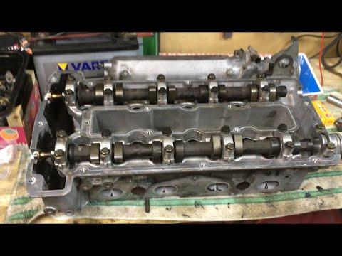 Saab 9000 из видео AcademeG'a - подготовка к установке ГБЦ