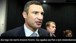 getlinkyoutube.com-Witalij Kliczko o polityce w Polsce i na Ukrainie! Będziesz zaskoczony