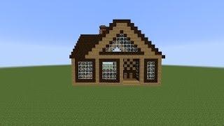 getlinkyoutube.com-Как построить красивый дом в Minecraft