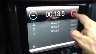 getlinkyoutube.com-iPad mini installed on Porsche 997