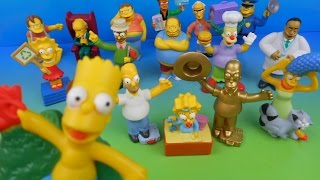 getlinkyoutube.com-2007 THE SIMPSONS MOVIE SET OF 16 BURGER KING KID'S MEAL TOY'S VIDEO REVIEW