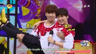 getlinkyoutube.com-[VIETSUB][151226] HAPPY CAMP {Ngô Diệc Phàm, Lý Dịch Phong, Chu Á Văn...}