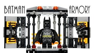 getlinkyoutube.com-LEGO Batman Armory Tech Gear KnockOff Set The Dark Knight Speed Build