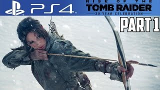 getlinkyoutube.com-Rise of the Tomb Raider PS4 Gameplay Walkthrough Part 1 20 Year Celebration Review