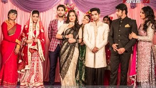 getlinkyoutube.com-Qubool Hai | BTS | Wedding Photos Scene