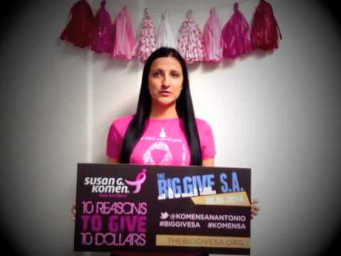 #5 AMANDA - BIG GIVE SA AND KOMEN SAN ANTONIO