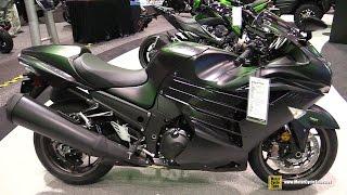 getlinkyoutube.com-2016 Kawasaki Ninja ZX14R - Walkaround - 2015 AIMExpo Orlando