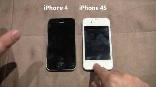getlinkyoutube.com-iPhone 4 vs iPhone 4S - The differences exposed!