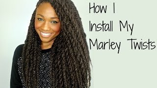 getlinkyoutube.com-Quick & Easy Install! Marley | Havana Twists Tutorial