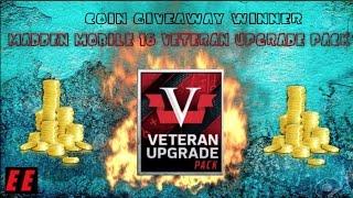 getlinkyoutube.com-Madden Mobile 16 Veteran Upgrade Pack! GIVEAWAY WINNER