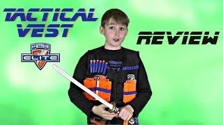 getlinkyoutube.com-Review Nerf Tactical Vest  (Full HD) [deutsch/german]