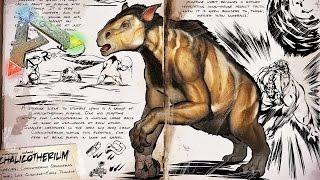 """getlinkyoutube.com-ARK - NUEVO SUPER DINOSAURIO """"CHALICOTHERIUM"""" TODA LA INFORMACIÓN - ARK: Survival Evolved"""