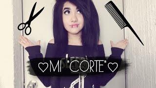 getlinkyoutube.com-♥ ¿Como corto mi cabello? ♥ :D (Estilo Emo/Scene según algunas personas xD)