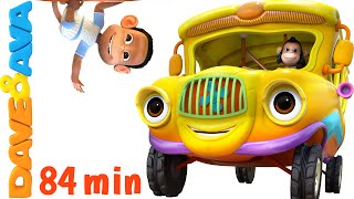 getlinkyoutube.com-Wheels on the Bus | Nursery Rhymes Collection | YouTube Nursery Rhymes from Dave and Ava