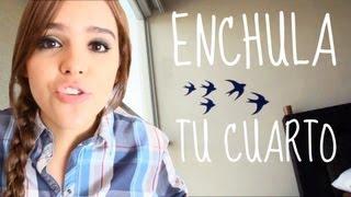 ¡ENCHULA TU CUARTO! FÁCIL ♥     -Yuya