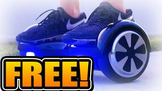 HUGE HOVERBOARD GIVEAWAY! | WIN FREE SEGWAY HOVERBOARD