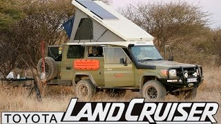 getlinkyoutube.com-Toyota Land Cruiser - The Ultimate Camper Conversion