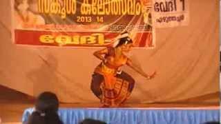 getlinkyoutube.com-DEVI NANDANA'S BHARATHANATYAM at KOLLAM DIST. SCHOOL YOUTH FEST. 2014