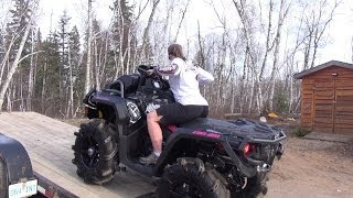 getlinkyoutube.com-Mrs Ostacruiser's New Can-am