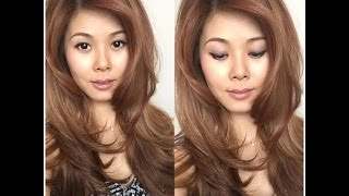 getlinkyoutube.com-DIY: How to trim/cut your bangs and create volume on top at home.