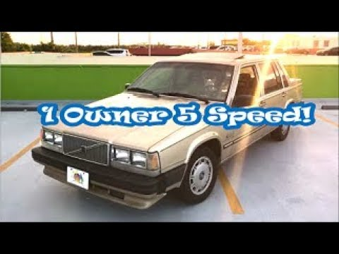 I Won A 5 Speed 88 Volvo 740 At Copart For $225