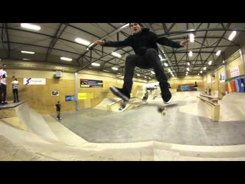Newsoul Skateboards: Albert Nyberg weekend in Hangaren