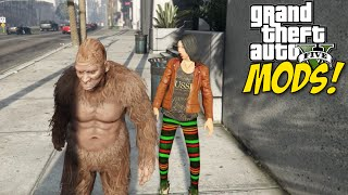 SASQUASH SPITTIN' THAT GAME! [GTA 5] [MODS] [NON-AGE RESTRICTED LOL]