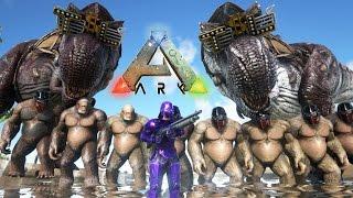 getlinkyoutube.com-EL MEGA EJÉRCITO Y LAS SUPER ARMAS!! - ARK: Survival Evolved